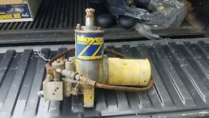 Meyers E 60 Snow Plow Pump