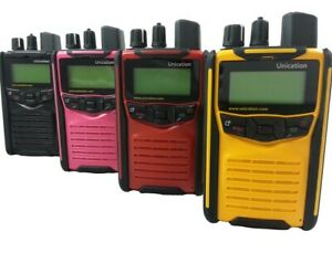 Unication G1 Vhf Pager Fire Police Ems Stored Voice Tones 64 Channel Brand New