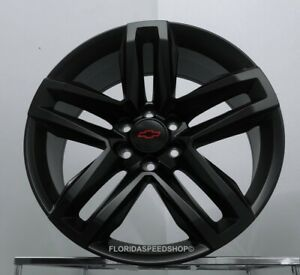 Satin Black Trail Boss Chevy Silverado Tahoe Escalade Truck Wheels Set 22x9