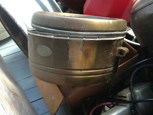 Vesta Brass 100 Year Old Headlight With Ring Nautical Automotive Searchlight 12