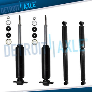 Front Rear Shock Absorbers For 2wd 1997 2004 Dodge Dakota 1999 2003 Durango
