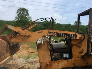 Good Case 680e Construction King Tractor Backhoe Boom Loader Attachment Assembly