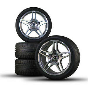Amg 19 Inch Mercedes Benz Cls 63 W218 E63 W212 Winter Tires Winter Tires New
