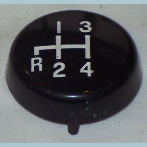 New Transmission Gear Shift Knob Cap For Mgb 1977 1980 Without Overdrive