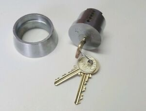 Medeco Lock Cylinder And Screws comes With 3 Classic 00 Series Medeco Keys