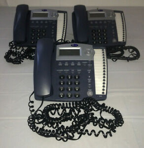 Lot Of 3 At t 945 4 line Small Business System Office Phones