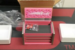 New Rare Snap On Tools Mini Micro Tool Box Pink Made For Case Ih Top Chest
