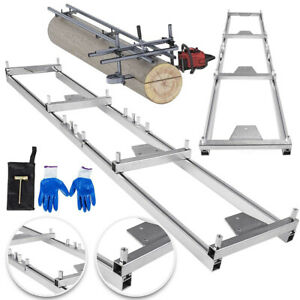 Chainsaw Rail Mill Guide System For Wood Lumber Board Cutting Reinforce Trees