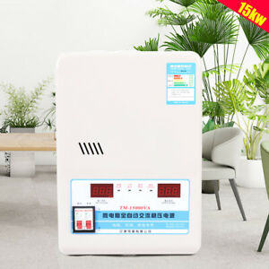 15kw Automatic Voltage Stabilizer Ac Regulator Power Supply 130 270v To 220v