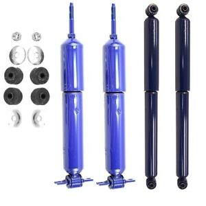 Front Rear Shock Absorbers Monroe Matic Plus For Dodge Ram 1500 2002 2008 Rwd