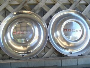 Vintage 1952 52 Dodge Coronet Meadowbrook Royal Hubcaps Wheel Covers Center Caps