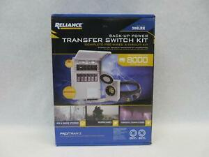 Reliance Transfer Switch Kit P2 Model 306lrk 6 circuit Pre wired Back up Power
