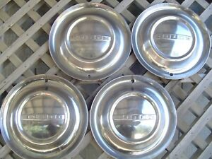 Vintage 1953 53 Dodge Coronet Meadowbrook Royal Hubcaps Wheel Covers Center Caps