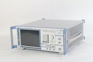 Rohde And Schwarz Sfu 3ghz Broadcast Test System W Opts B4 B6 B10 B11 B30