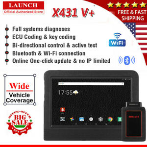Launch V Obd2 Diagnostic Scan Tool Auto Obd Scanner Tpms Programming Ecu Coding