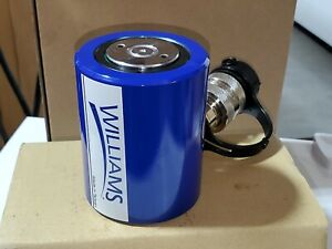 Williams By Snap On 10 Ton 1 1 2 Stroke Low Profile Hydraulic Cylinder Jack Ram