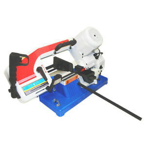 1 2 Hp Portable 4 X 6 Metal Cutting Cutter Band Saw Round Square Rod 1430 Rpm