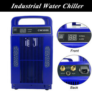 Ac110v 60hz Industrial Water Chiller For Co2 Glass Laser Tube under 80w Us Stoc