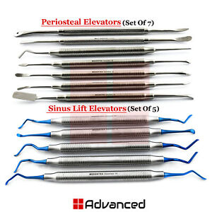 Implant Sinus Lifting Elevators Periosteal Oral Surgery Instruments Buser Freer
