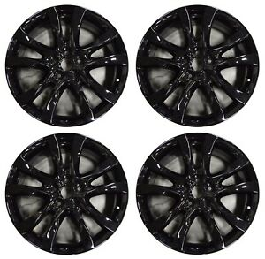 19 Mazda 6 2014 2015 2016 2017 Factory Oem Rim Wheel 64958 Gloss Black Full Set