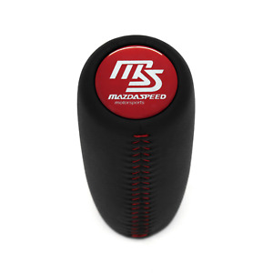 Mazdaspeed Red Stitch Weighted Shift Knob 3 5 Cr 6 Xedos Cx7 Mx 5 323f Rx 8 Mx 3