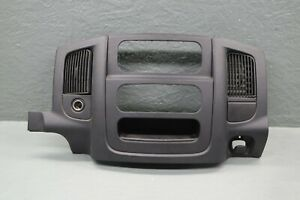 03 10 Dodge Ram 3500 Dually Oem Center Dash Radio Bezel Trim Panel Center Vents