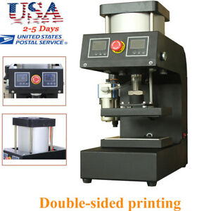 Usa Ship A pneumatic Rosin Small Plane Presses Hot pressing Machine Double sided