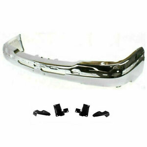 New Front Bumper Face Bar Chrome For Chevy Silverado 1500 2003 04 05 2006