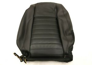 New Oem Ford Seat Back Cover Black Leather Right Br3z 7664416 Ab Mustang 2010 14