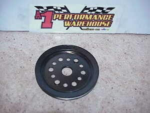 1966 1967 Corvette 327 Sb Chevy Single Groove Crankshaft Pulley 3755820 Bc