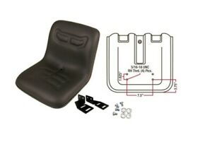 Ford New Holland Compact Tractor Seat Universal Flip Seat W Brackets