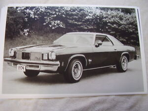1974 Oldsmobile Cutlass S Coupe 11 X 17 Photo Picture