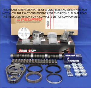 Ford Stage 2 302 5 0l Engine Rebuild Kit Roller Cam 1992 93 94 Truck Pistons