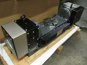2017 Haas Tr 160 5th Axis Rotary Table Trunnion New Condition Brushless