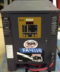 Enersys Gold Battery Charger 24 Volt 380 Ahr power Pallet Jack
