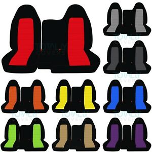1998 2003 Ford Ranger 60 40 2 Tone Truck Seat Covers Without Armrest Split Bench