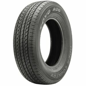 2 New 265 70r18 Toyo Open Country A26 Tires 265 70 18 R18 2657018 70r Black