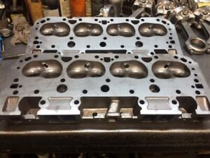 327 350 400 World Products Small Block Chevy Cast Iron Cylinder Heads