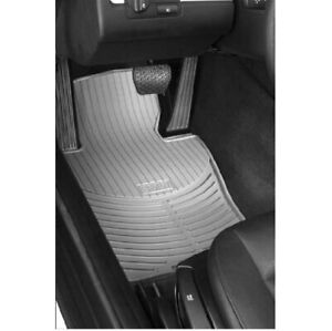 Genuine Front Gray All Weather Rubber Floor Mats Set For Bmw E39 5 series