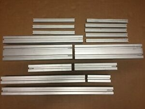 Lot Of 8020 16pc Total 20mm X 20mm 40mm X 40mm 40mm X 80mm