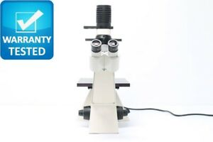 Zeiss Invertoskop Inverted Phase Contrast Microscope