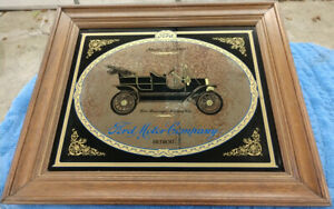 1909 Ford Model T Five Passenger Touring Car Framed Picture