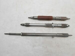 Inside Telescoping Micrometers 3 Pcs