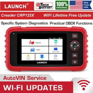 Launch Crp123 X Kfz Auto Diagnostic Tool Obd2 Scanner Code Reader Abs Srs Engine