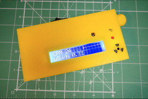 Geiger Counter Dosimeter Kit Assembled w Enclosure Sts 5 Tube Arduino Compat