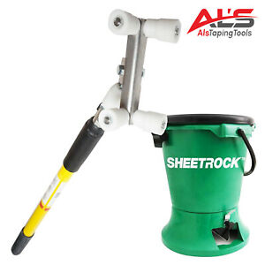 Platinum Outside 90 Roller W Extendable Handle Sheetrock Bead Hopper