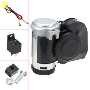Ridgeyard Motorcycle Atv Air Horn Car Snail Dual Tone Loud Compacttruck Lorry Us