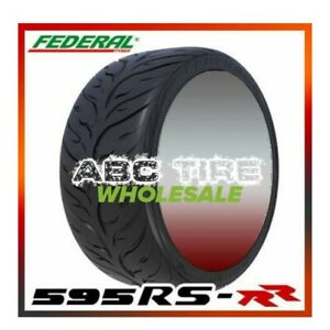 2x Federal 595rs Rr 235 40zr17 90w Ultra High Performance Racing Summer Tires