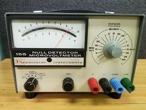 Keithley Instruments 155 Null Detector Microvoltmeter m 102