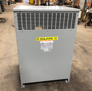 150kva Square D Ex150t3h Distribution Transformer Dry Type 3 Phase 480v Can Ship